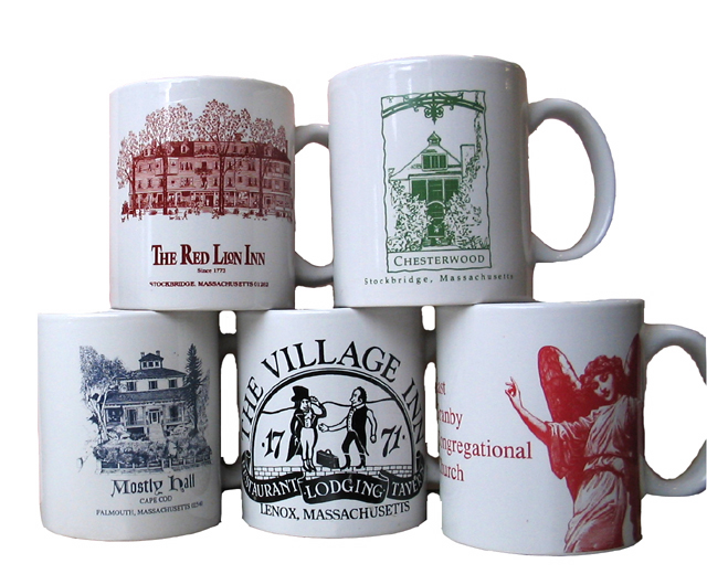 Custom Logo Mugs and Tiles