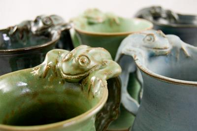 Funkware Frog Mugs